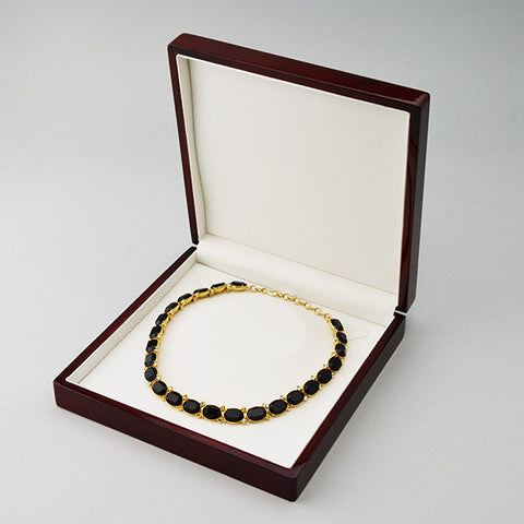Wood Necklace Box - JewelryPackagingBox.com