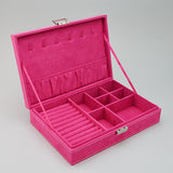 "Jewelry Case Velvet 11"" X 7 1/2"" X 2 1/2"" - JewelryPackagingBox.com"