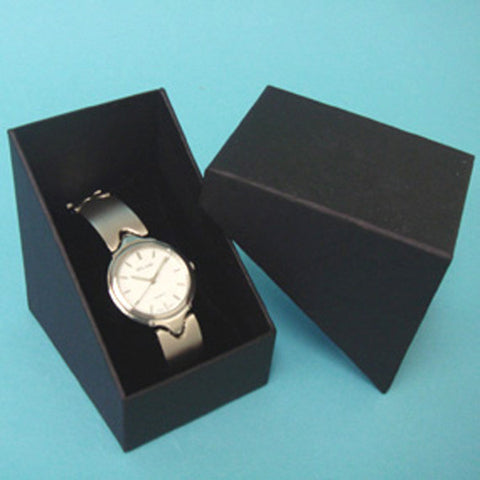 Watch Box with Pillow - JewelryPackagingBox.com