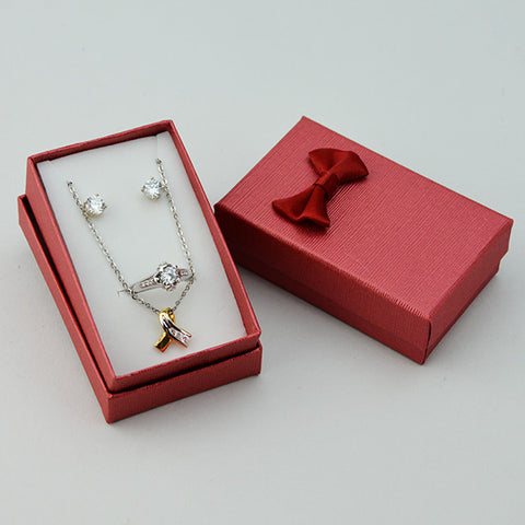 Combo Ring, Pendant, and Earring box