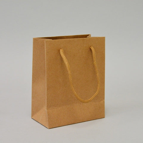 "Tote Bag 4"" X 2 1/2"" - JewelryPackagingBox.com"