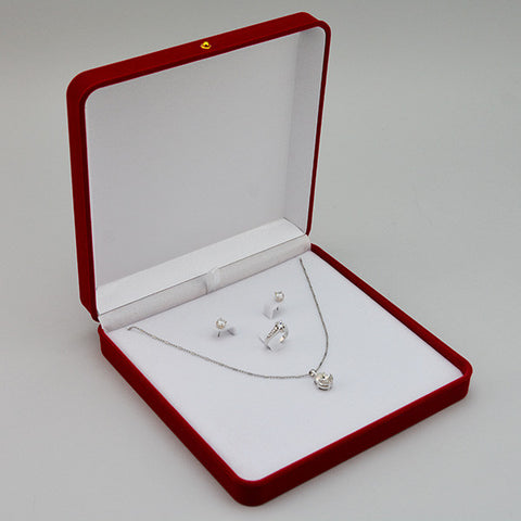 Necklace,ring,earring box