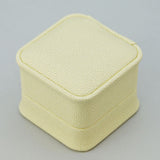 Fine Leatherette Ring Boxes - JewelryPackagingBox.com