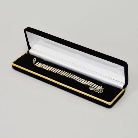 Velvet Bracelet Box - JewelryPackagingBox.com