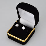 velvet earring box - JewelryPackagingBox.com