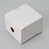 Treasure Chest Earring Box Red - JewelryPackagingBox.com