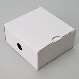 Treasure Chest Pendant Box Black - JewelryPackagingBox.com