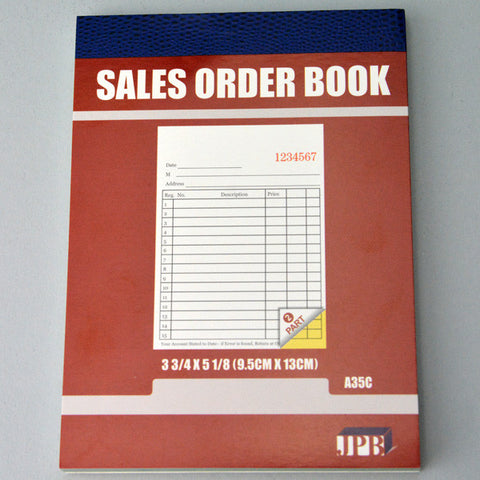 "Carbonless Sales/invoice Books 3 3/4"" x 5"""