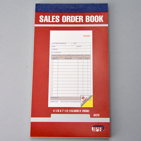 "Carbonless Sales-invoice Books 4""x 7"" - JewelryPackagingBox.com"