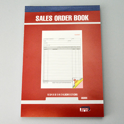 Carbonless Sales invoice Book 3 parts