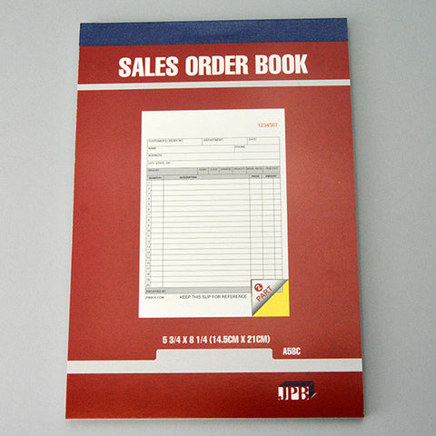 Carbonless Sales invoice Books 2 parts