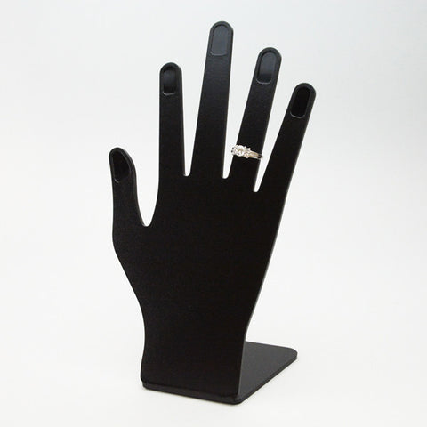 Plastic Hand Display for Rings - JewelryPackagingBox.com