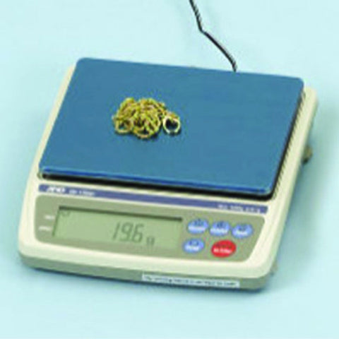 A & D Counter-top Scale 1200g Legal For Trade - JewelryPackagingBox.com