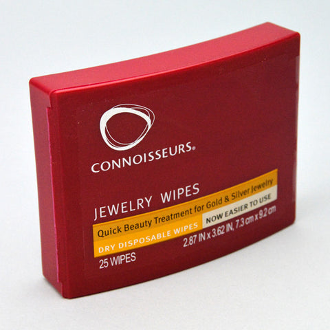 Disposable jewelry dry wipes - JewelryPackagingBox.com