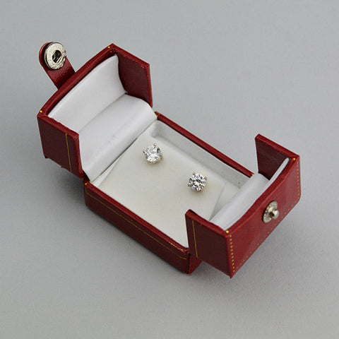 Double Door Earring Box - JewelryPackagingBox.com