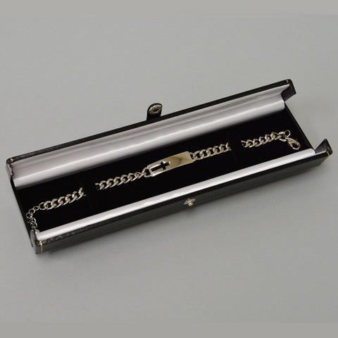 Double Door Bracelet Box - JewelryPackagingBox.com