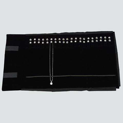 Chain Roll with Elastic - JewelryPackagingBox.com