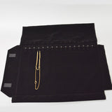 Jewelry Roll for chains - JewelryPackagingBox.com
