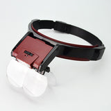Headband Magnifier with LED light - JewelryPackagingBox.com