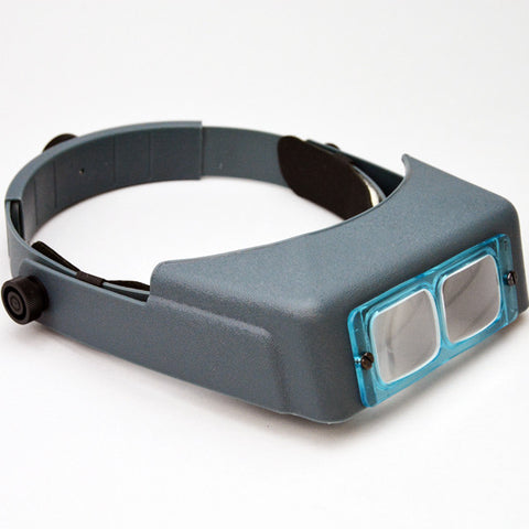 "Optivisor head magnifier 6""-2.75X - JewelryPackagingBox.com"