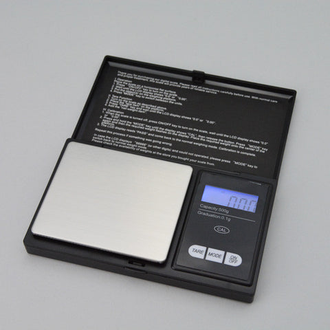 Pocket Scale  500 Grams - JewelryPackagingBox.com