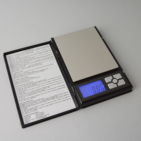 Pocket Scale 500 Grams 0.01 accuracy - JewelryPackagingBox.com