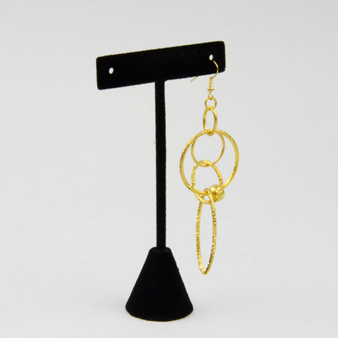 "T Earring Stand 4 1/2"" H - JewelryPackagingBox.com"