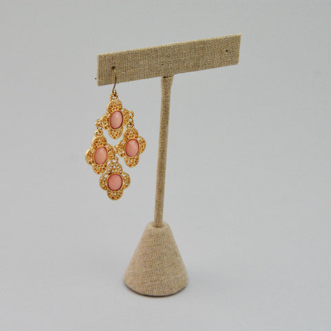 "Earring Display 4"" - JewelryPackagingBox.com"