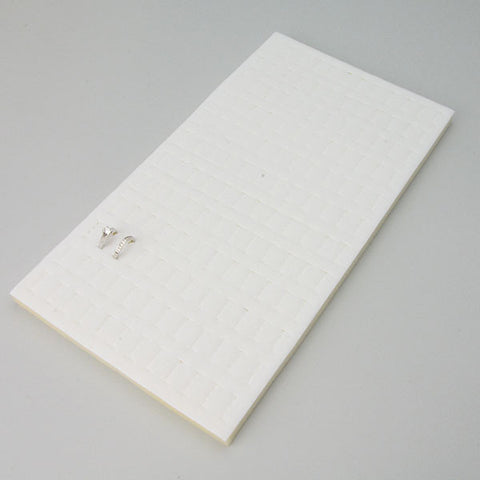Horizontal Ring Foam Pad 144 rings - JewelryPackagingBox.com