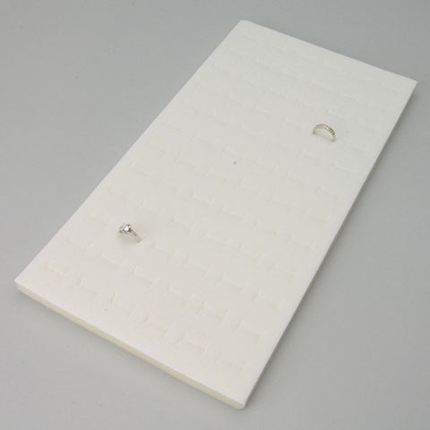 Vertical Ring Foam Pad 72 - JewelryPackagingBox.com