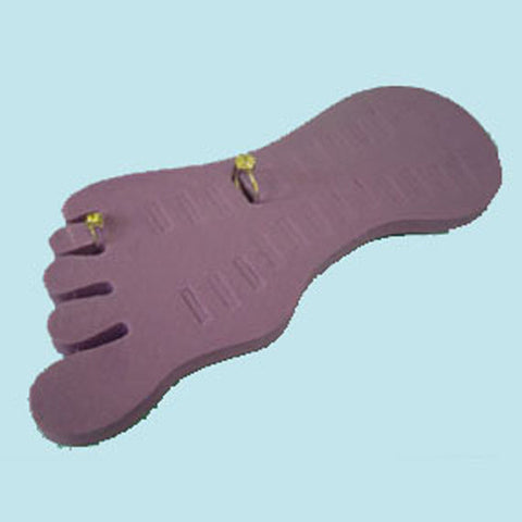 TOE RING DISPLAY MAUVE
