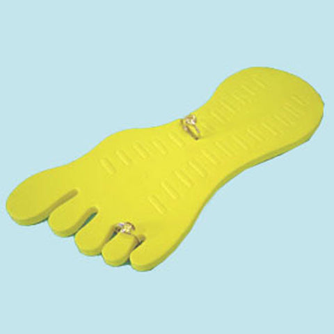 TOE RING DISPLAY YELLOW - JewelryPackagingBox.com