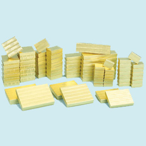 Assorted Size Gold Boxes Pack of 72 - JewelryPackagingBox.com
