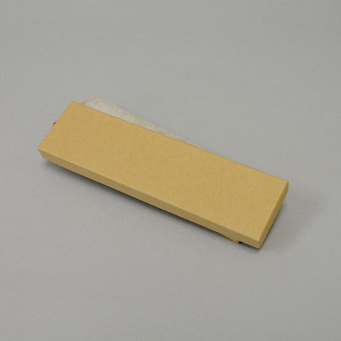 "Kraft Cotton Filled Box 8"" x 2"" Pack of 100 - JewelryPackagingBox.com"