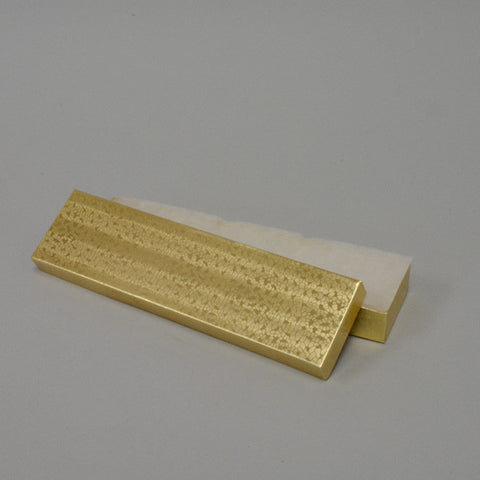"Gold Cotton Filled Box 8"" x 2"" pack of 100 - JewelryPackagingBox.com"