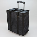 Jewelry carrying case on wheels - JewelryPackagingBox.com