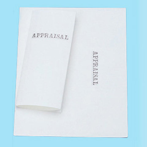 Appraisal Form cover - JewelryPackagingBox.com
