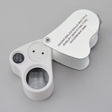 LED Jeweler's Loupe 30X - JewelryPackagingBox.com