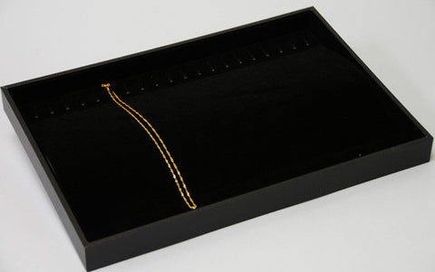 Chain Tray with Ramp 20 hooks - JewelryPackagingBox.com