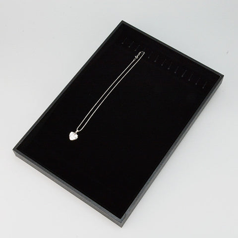 Chain Tray with Ramp 13 hooks - JewelryPackagingBox.com