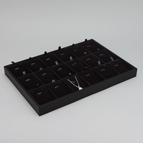 Jewelry display tray for Pendants - JewelryPackagingBox.com