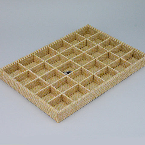 storage tray for earrings - JewelryPackagingBox.com