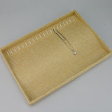 Necklace storage tray - JewelryPackagingBox.com
