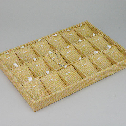 Display Tray for 18 pendants - JewelryPackagingBox.com