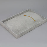 Necklace display Tray with 20 hooks - JewelryPackagingBox.com