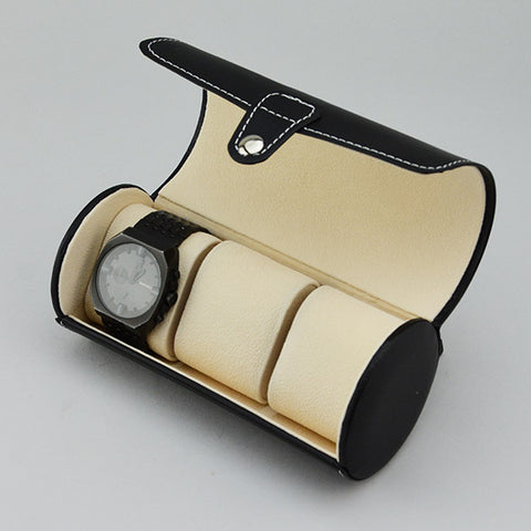 Watch case for travel - JewelryPackagingBox.com