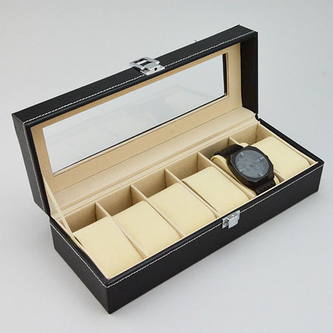 "Watch Case 12"" x 4 1/4"" x 3"" - JewelryPackagingBox.com"