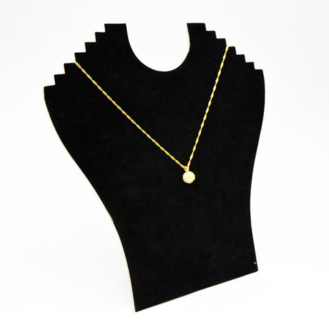 NECKLACE DISPLAY WITH EASEL - JewelryPackagingBox.com