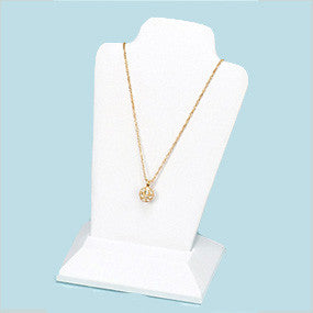 PENDANT DISPLAY WITH REMOVABLE BASE WHITE /6 + - JewelryPackagingBox.com