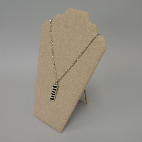 "Linen Necklace Display 8"" X 12"" - JewelryPackagingBox.com"